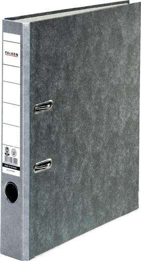 Falken Ordner FALKEN Recycling DIN A4 Rückenbreite: 50 mm Grau Wolkenmarmor 2 Bügel 10311686