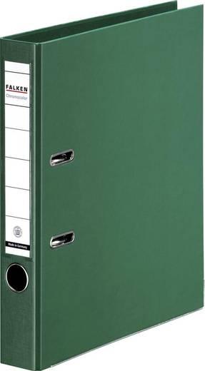 FALKEN Ordner Chromocolor grün/11285939, grün, Rücken 50mm, für A4