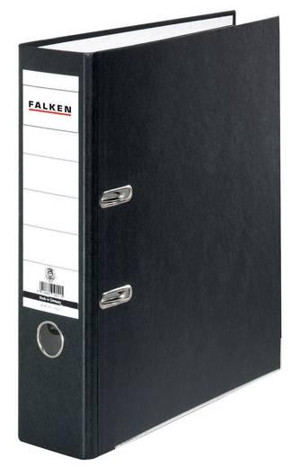 Falken Ordner FALKEN Recycolor DIN A4 Rückenbreite: 80 mm Schwarz 2 Bügel 11285558