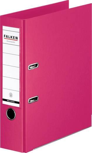 FALKEN Ordner Chromocolor fuchsia/11285822, fuchsia, Rücken 80mm, für A4