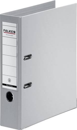 FALKEN Ordner Chromocolor grau/11285533, grau, Rücken 80mm, für A4
