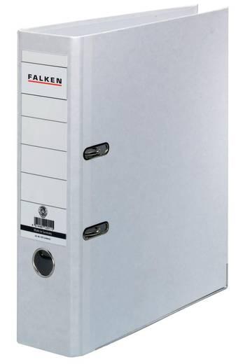 FALKEN Ordner Recycolor /11285897, weiß, Rücken 80mm, für A4