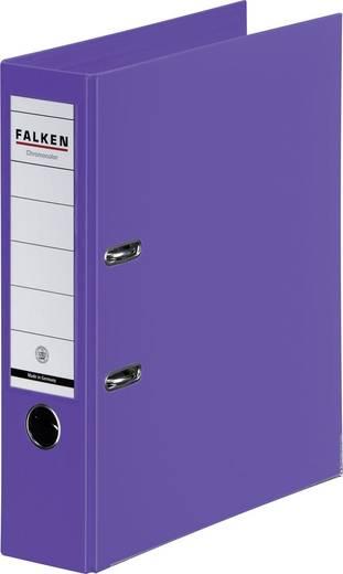FALKEN Ordner Chromocolor violett/11285608, violett, Rücken 80mm, für A4