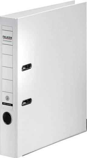 FALKEN Ordner Chromocolor weiß/11285996, weiß, Rücken 50mm, für A4