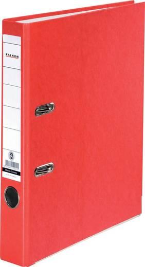 FALKEN Ordner Recycolor /11285293, rot, Rücken 50mm, für A4