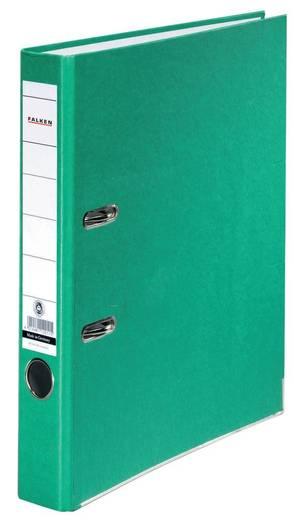 FALKEN Ordner Recycolor /11286325, grün, Rücken 50mm, für A4