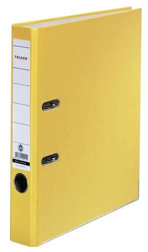 FALKEN Ordner Recycolor /11286333, gelb, Rücken 50mm, für A4