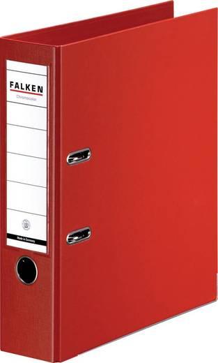FALKEN Ordner Chromocolor rot/11285442, rot, Rücken 80mm, für A4