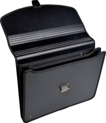 EXACOMPTA Fächertaschen Exabag green filing/59144E, schwarz, 365x42x320mm