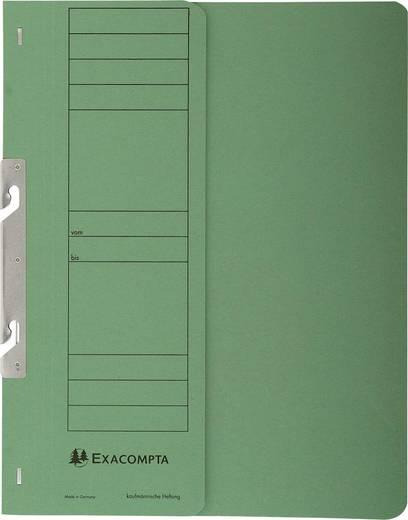 Exacompta Einhakhefter mit halbem Deckel/352625B DIN A4 grün 250g