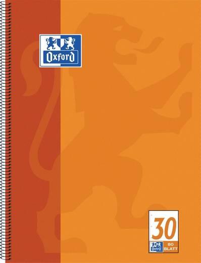 Oxford Collegeblock DIN A4 Abriß, 80 Blatt, blanko/384408030 DIN A4+ 80 blanko 90 g/qm