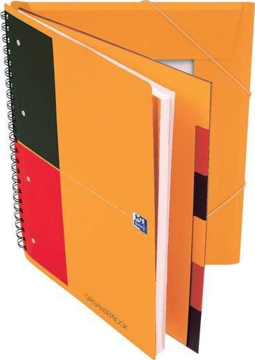 Oxford Organiserbook ECF/357001802, liniert, 80g/qm, DINA4+, 90Blatt