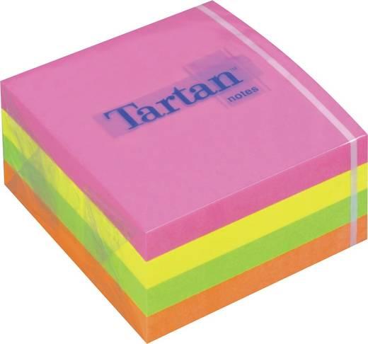 Tartan™ Haftnotizwürfel/7676C-N, neon, 76x76mm, Inh. 400 Blatt