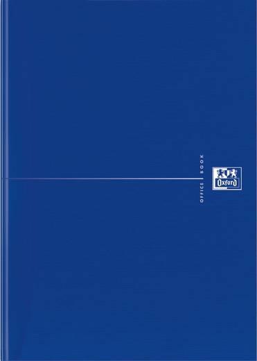 Oxford Collegeblock/353002346, blau, kariert, 90g/qm optik paper, DIN A5,96Blatt