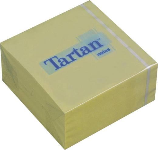 Tartan™ Haftnotizwürfel/7676C-Y, gelb, 76x76mm, Inh. 400 Blatt
