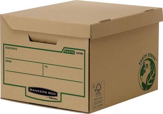 BANKERS BOX Klappdeckelbox Maxi Earth /4472201, braun, B390xH293xT560mm