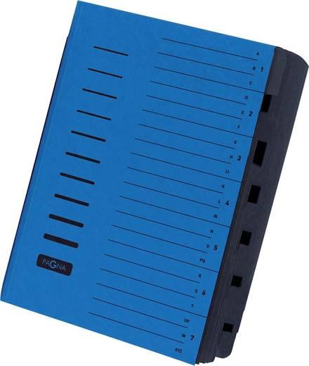PAGNA Ordnungsmappe/24081-02, blau, 7-teilig