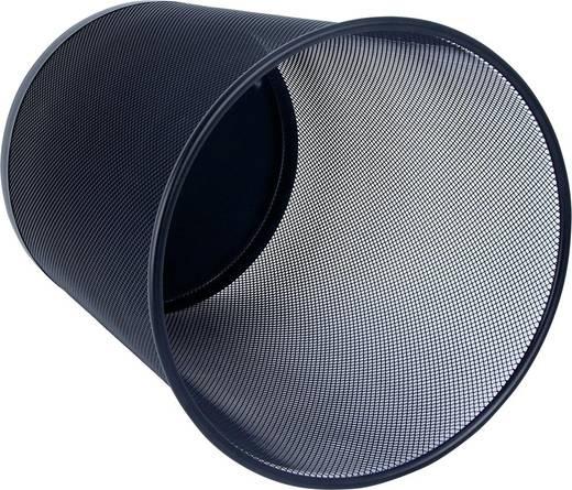 Papierkorb WEDO (Ø x H) 295 mm x 350 mm Schwarz 18 l