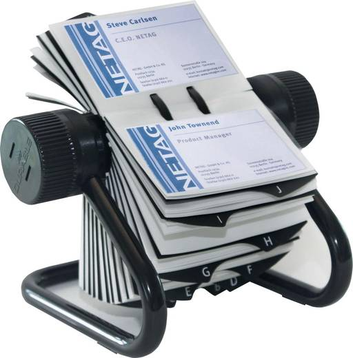 DURABLE Rollkartei VISIFIX/2481-01, schwarz, B215xH120xT185mm