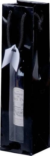 smartboxpro Lacktaschen mit Fenster/259170420 9,8 x 8,9 x 38 cm schwarz