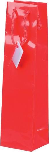 smartboxpro Lacktaschen mit Fenster/259140420 9,8 x 8,9 x 38 cm rot