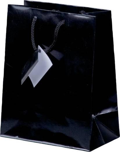 smartboxpro Lacktaschen/259170210 18 x 10 x 22,7 cm schwarz Papier/Baumwolle