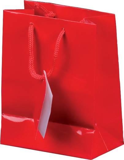 smartboxpro Lacktaschen/259140210 18 x 10 x 22,7 cm rot Papier/Baumwolle