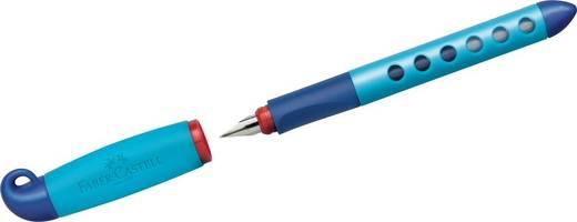 FABER-CASTELL Schulfüller, blau, Linkshänder/149849 blau Linkshänder