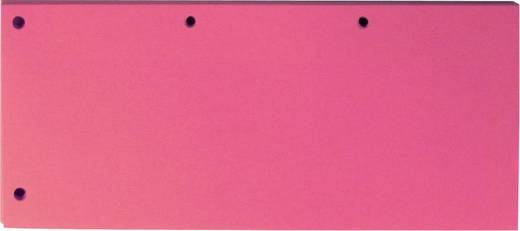ELBA Trennstreifen Duo pink/400014011, pink, 10,5x24cm, Inh. 60