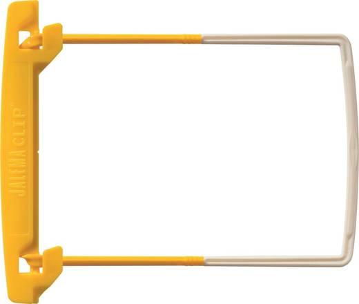 JALEMA Clip Heftmechanik/5710000, gelb, Kunststoff, Inh. 100