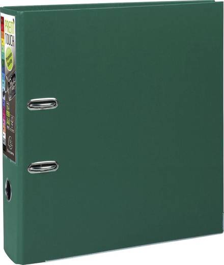 EXACOMPTA Prem Touch Ordner DIN A4 Maxi 80mm /53353E, dunkel grün, PP,320x300mm