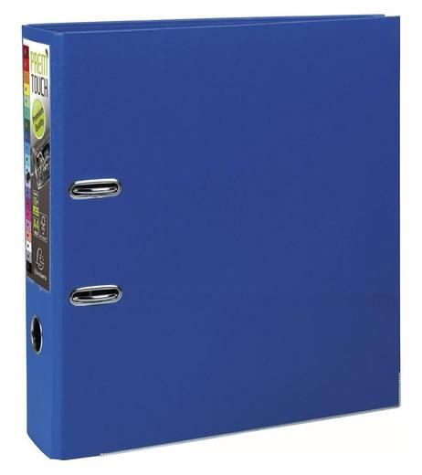 EXACOMPTA Prem Touch Ordner DIN A4 Maxi 80mm /53352E, dunkel blau, PP,320x300mm