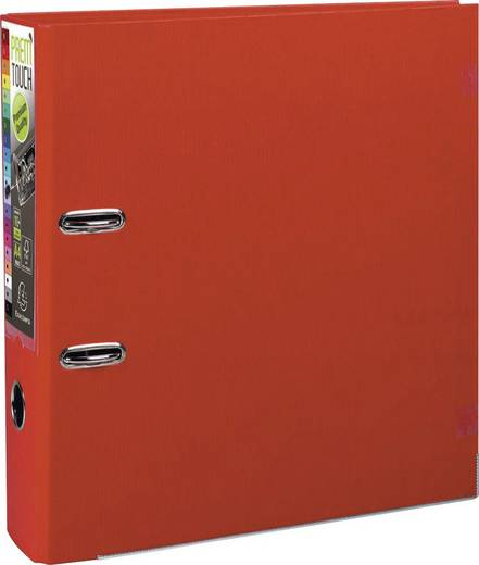 EXACOMPTA Prem Touch Ordner DIN A4 Maxi 80mm /53345E, rot, PP , 320x300mm