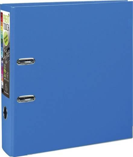 EXACOMPTA Prem Touch Ordner /53342E 320x300mm DIN A4 Maxi 80mm blau PP