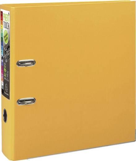 EXACOMPTA Prem Touch Ordner /53349E 320x300mm DIN A4 Maxi 80mm gelb PP