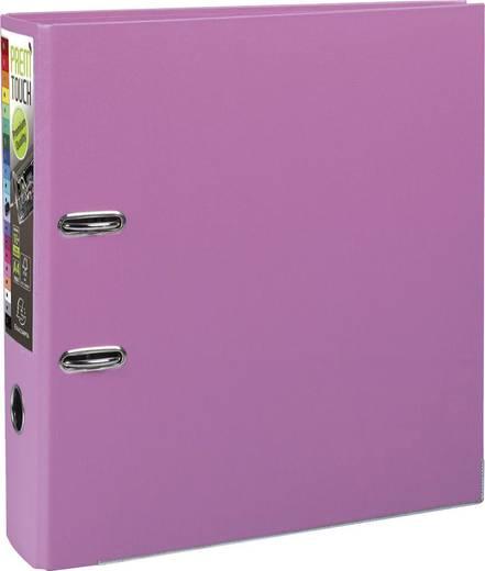 EXACOMPTA Prem Touch Ordner DIN A4 Maxi 80mm /53355E, pastell rosa, PP,320x300mm