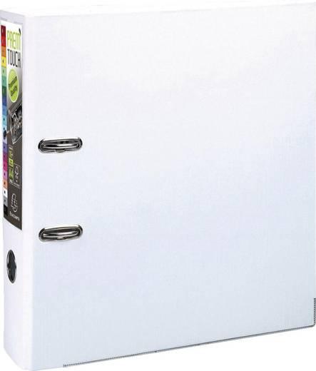 EXACOMPTA Prem Touch Ordner /53348E 320x300mm DIN A4 Maxi 80mm weiß PP
