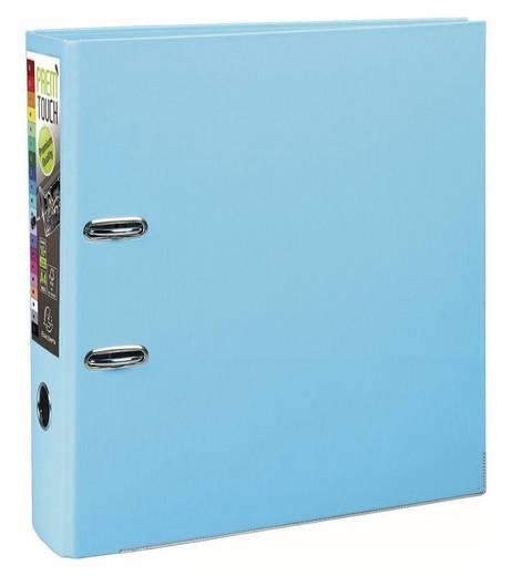 EXACOMPTA Prem Touch Ordner DIN A4 Maxi 80mm /53302E, pastell blau,PP,320x300mm
