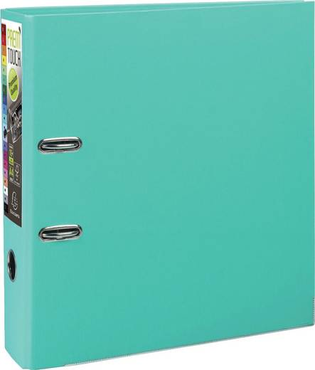 EXACOMPTA Prem Touch Ordner DIN A4 Maxi 80mm /53303E,pastell grün,PP,320x300mm,