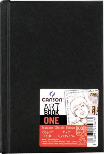 Skizzenbuch Hardcover 10,2 x 15,2 cm