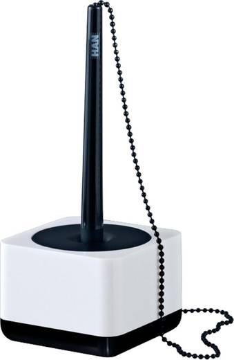HAN i-Line Kugelschreiberständer hochglänzend/17651-32 weiß/schwarz