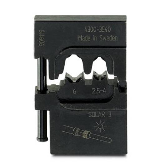 Crimpgesenk Solar-Steckverbinder MC3 2.5 bis 6 mm² Phoenix Contact CRIMPFOX-M SR 6-1/DIE 1212471 Passend für Marke Pho
