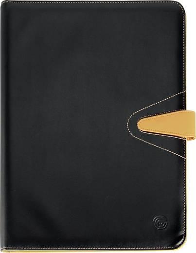 Ecobra Konferenzmappe Elite/611056, Maße DIN A4, Farbe schwarze/beige