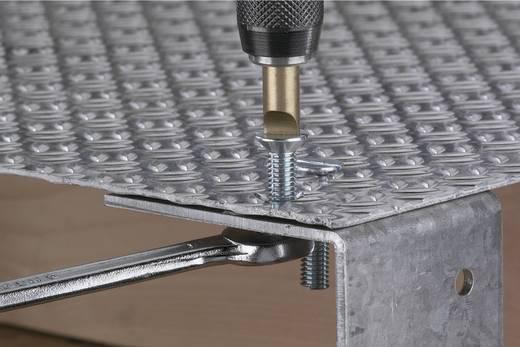 Schlitz-Bit 5.5 mm, 6.5 mm Wolfcraft S2-Stahl TiN D 6.3 2 St.