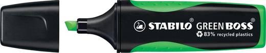 STABILO Textmarker GREEN BOSS, grün/6070/33, grün, 2 und 5mm