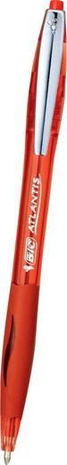 BIC Kugelschreiber ATLANTIS 1.0 Premium mit Metallclip, rot/902134, rot, M