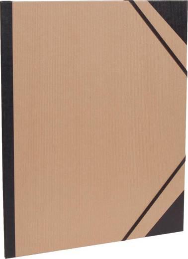 Clairefontaine Zeichenmappen Kraft braun, 44600C, 60x85cm