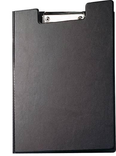 MAUL Schreibmappe mit Folienüberzug/2339290, schwarz, DIN A4