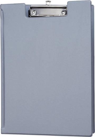 MAUL Schreibmappe mit Folienüberzug/2339295, silber, DIN A4