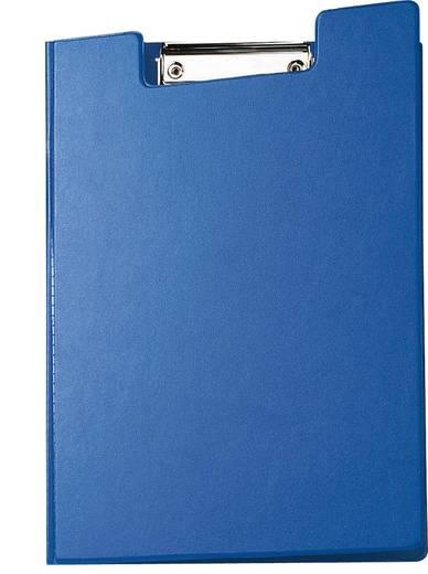MAUL Schreibmappe mit Folienüberzug/2339237, blau, DIN A4